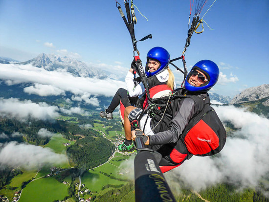 Paragleiten & Tandemfliegen in Flachau - Fly Jocke